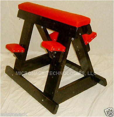 Dungeon Furniture Wood And Vinyl Horse With Pads New Made In Usa