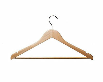 100 Wooden Coat Shirt Tops Jeans Clothes Display Hanger