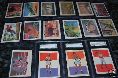 High Grade 1956 Gum Products Vintage Card Collection!