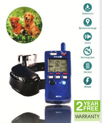 Pac Ext4-2 Dog With New Exc4 Collar Training Collar 3Km Range 90 Hrs