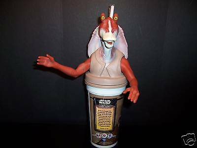 Star Wars Jar Jar Binks KFC Pizza Hut Taco Bell Pepsi Cup Figure