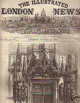1870 Illustrated London News Oct 22 - Orleans Captured