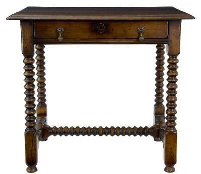 A Fine Oak Bobbin Turn Oak Side Table