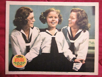 Little Miss Broadway (1938) Shirley Temple Original & Best Lobby Card In Set