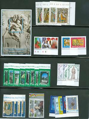Vatican City 1995 Compete MNH Year Set