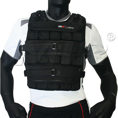 MiR Pro 60Lbs Weight Adjustable Weighted Vest *New*