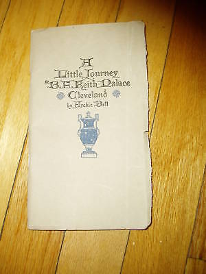 Little Journey Cleveland Palace Theater Book