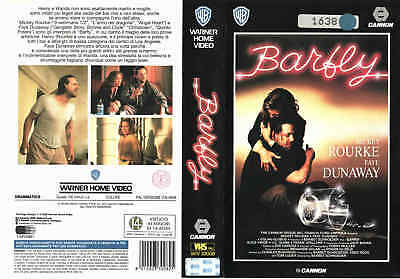 Barfly (1987) VHS