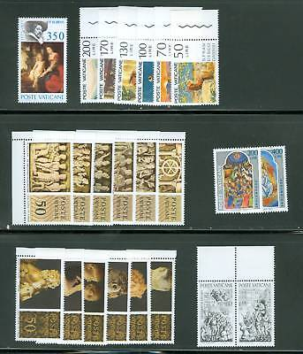 Vatican City 1977 Compete MNH Year Set
