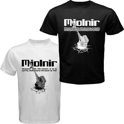 The Mighty Thor Thunder God Hammer Mjolnir T-shirt