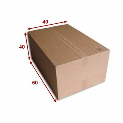 10 boîtes emballages cartons  n° 70A  - 600x400x400 mm - simple cannelure