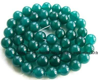 new 10mm Green Jade Round Gemstone Beads 15''