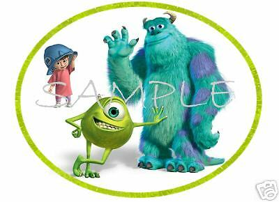 MONSTERS Inc  #3  T-Shirt  DECAL Iron-On Transfer