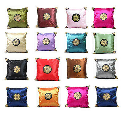 Lots 4pairs/8pcs Chinese Handmade Embroiderd Silk Cushion Covers Pillow Cases