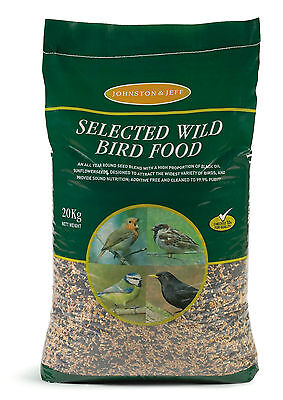 Johnston & Jeff Wild Bird Mixed Seed  Great Quality 20KG