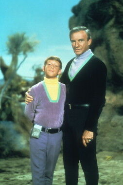 Lost In Space Jonathan Harris Billy Mumy Photo 8X12