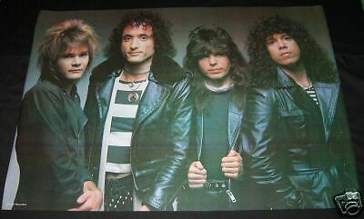 QUIET RIOT Group POSTER 1 (1984) NEW