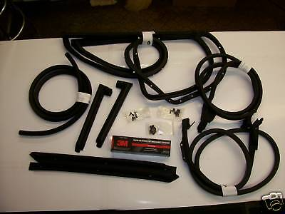 70-72 Corvette Coupe Weatherstrip Kit - Made In Usa!