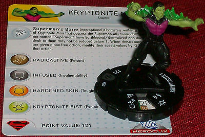 Kryptonite Man 032 Brave and the Bold HeroClix
