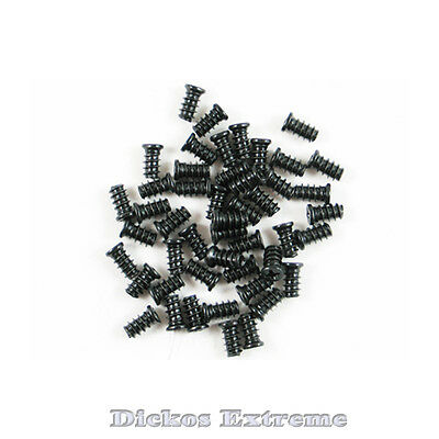 Case Fan & Grill Screws-12 Pcs Black (For standard Case Fan)