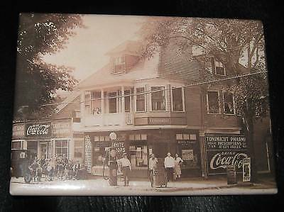 Coca-Cola Black And White Vintage Photo Magnet