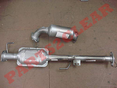 Suzuki Grand Vitara 1.6 2.0 2.5 Front & Centre Catalytic Converters Exhaust