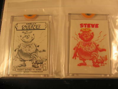 1966 Topps Slob Stickers (2) Proof #2 Smelly Steve