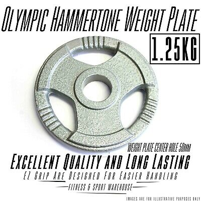 NEW Pair of Olympic Hammertone Weight Plate 1.25KG Fitness Gym Weightlifting