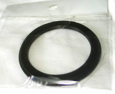 Step-down Camera lens adapter ring 52-49 52mm-49mm Anodized Metal black, new