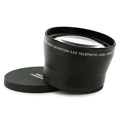 72MM 72 mm TELE 2X/2 TELEPHOTO Lens For Canon 18-200 IS