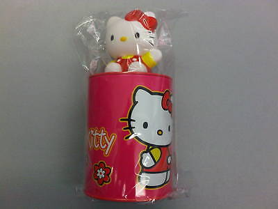 SALVADANAIO 3-D HELLO KITTY con gattino, soldi monete