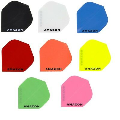 Amazon Dart Flights 3 Sets (9 Flights) - Extra Strong and Thick - Standard Shape