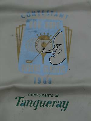 1969 Bob Hope Desert Classic Golf Bag Travel Cover VGC