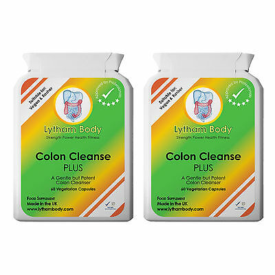 Colon Cleanse Cleanser Advanced Efficient Gentle Herbal Ibs Weight Loss Diet