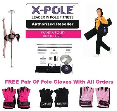 X-POLE® XPERT Latest Version - The Worlds Best Selling Static/Spinning Pole