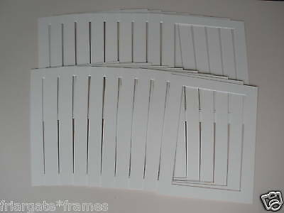 Picture frame mounts size 14 x11 IVORY pack of 20