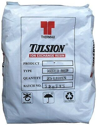 25 Litre Bag Tulsion Premium Grade Mixed Bed Resin MB-115