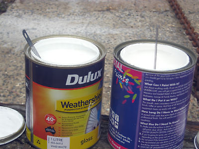 House Paint lots of sizes and colors, types, low sheen