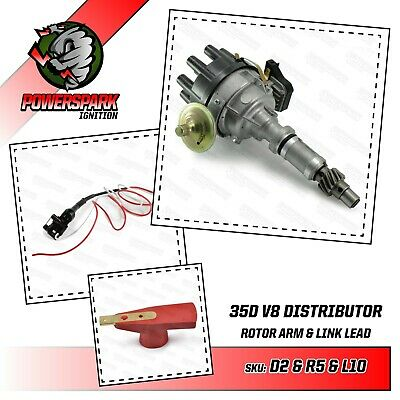 Rover V8 35DLM8 Distributor with Linking Lead For 3.9 3.5 Engines