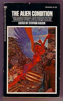 THE ALIEN CONDITION (INSCRIBED/SIGNED Stephen Goldin/original short stories/PBO)
