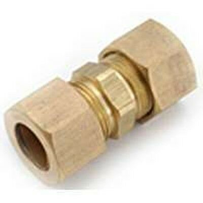 "New Lot (6) Brass 1/4"" Compression Union Couplings"
