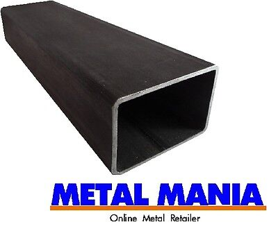 MIld Steel rectangle section 100mm x 60mm x 3.5mm x 250 mm