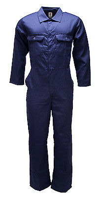 WWK Boilersuit Overall Coverall Mens Kids Navy or Royal mechanic college work