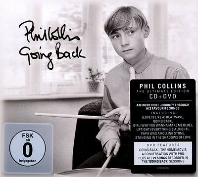 """Phil Collins """"going Back (Special Edt.)"""" Cd+Dvd Neu"""