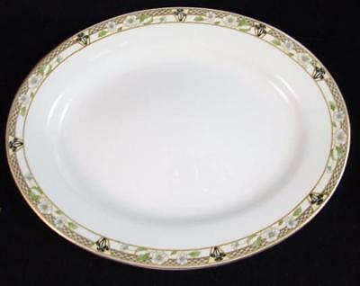 "J&G Meakin PACIFIC Large Oval Platter 14.25"" NICE"