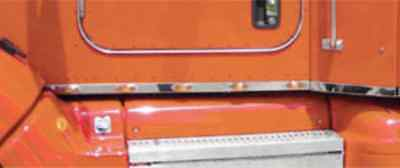 Peterbilt 386 Cab Panels Truck w Chassis Fairings Pair