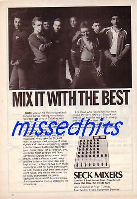 UB40-1981 magazine advert