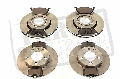 Vw Golf Mk4 Front + Rear Brake Discs + Pads Set Full Kit New 97-04 1.4