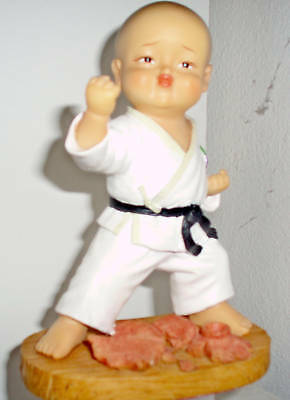 Statuetta Karatejapan Street Fighter Goju Figures Budo In Many Styles Sporting Goods Boxing, Martial Arts & Mma
