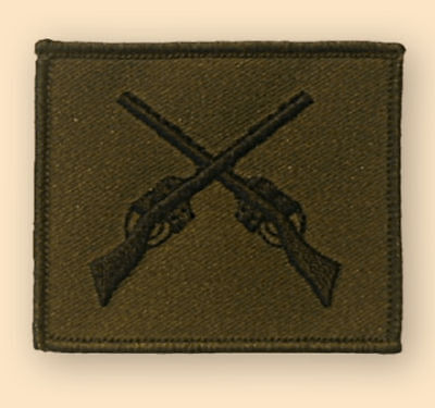 NEW OFFICIAL Skill at Arms badge, subdued.